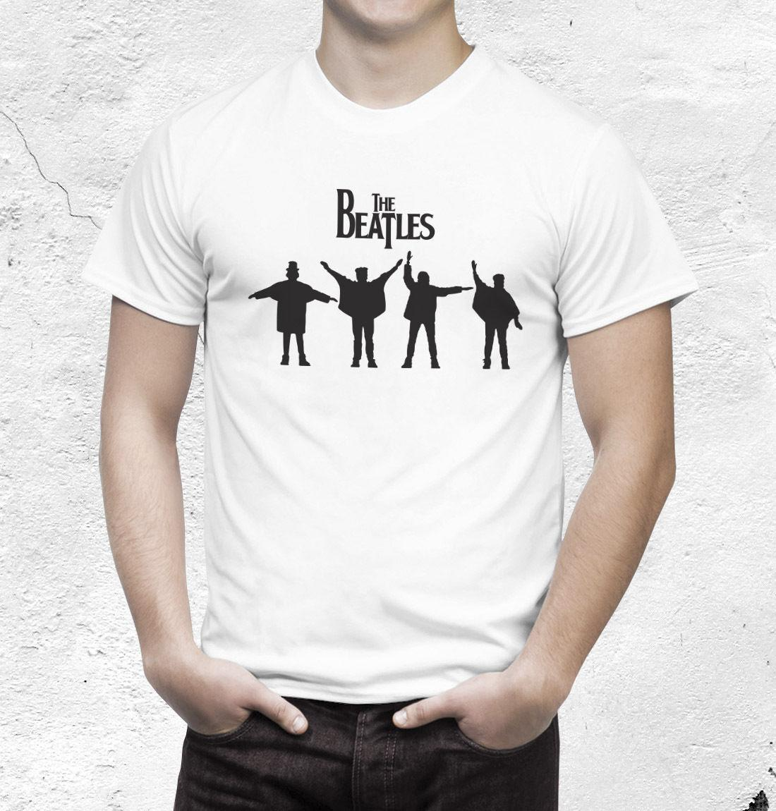 da7d46f14f The Beatles Camiseta John Lennon Paul McCartney Camiseta Ti Shirt Best T  Shirt Sites From Goodmood061