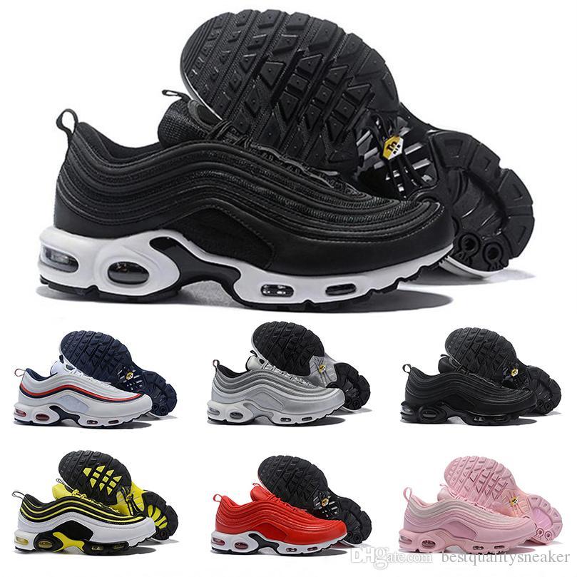 d54b547c56ed2 Air OG Ultra 97 TN Plus Para Hombre Zapatillas De Running Para Mujer  Zapatillas De Deporte De Diseño Original De Lujo Blanco Negro Marca  Deportiva ...