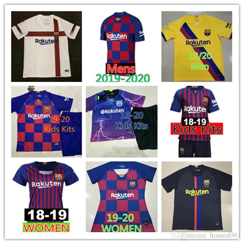 f2f6a1b1c 2019 2019 2020 Barcelona MESSI Soccer Jerseys 18 19 Suárez A.INIESTA ...