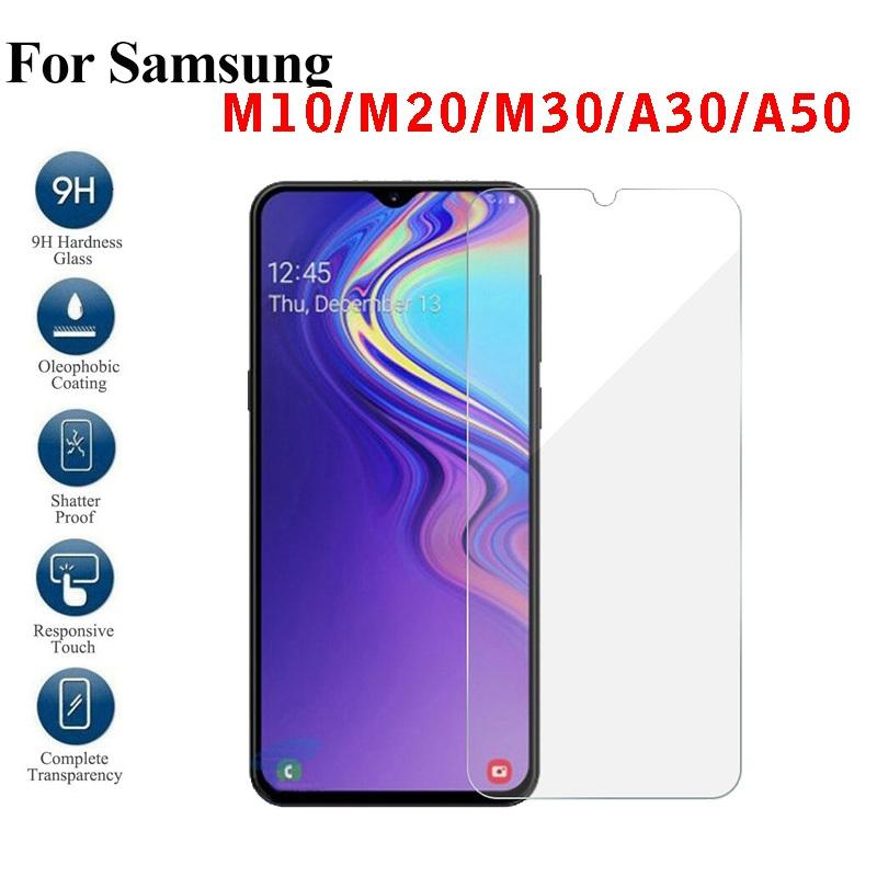 Screen Protector For Samsung Galaxy M50 M30 A70 A50 A9 2018/19 A7 A8 J8 J6  J4 plus J3 prime Tempered Glass Samsung