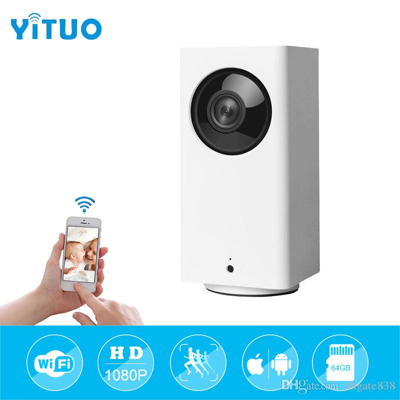 Smart IP Camera 110 Degree 1080p FHD Intelligent Security Wireless WIFI IP  Cam Night Vision APP Control Baby Monitor P2P Camera Surveillance