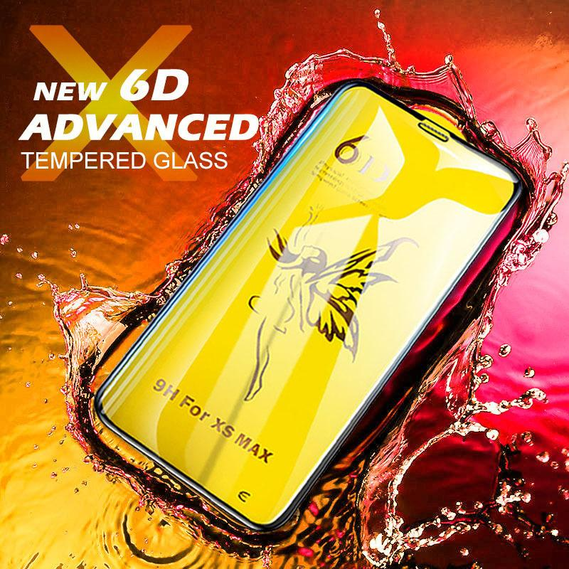 Advanced 6D Phone Screen Protector für iPhone x xr xs max Glas auf dem für iphone x xs max xr gehärtetes Glas iphone xs max