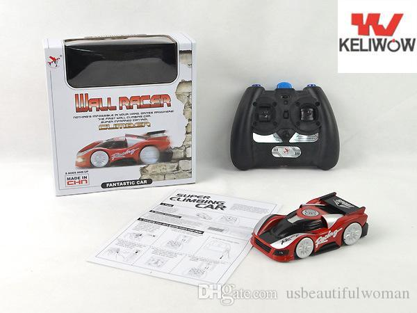 TIANQI 2018 Keliwow fy350 remote control wall climbing car charging Wall Road dual-use mini car toys at the end of the year special sale