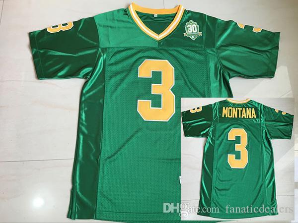 buy popular f9d35 446d8 Joe Montana Football Jerseys Norte Dame Fighting Irish #3 1977 Champions  Patch College Football Jersey All Stitched Men Jersey