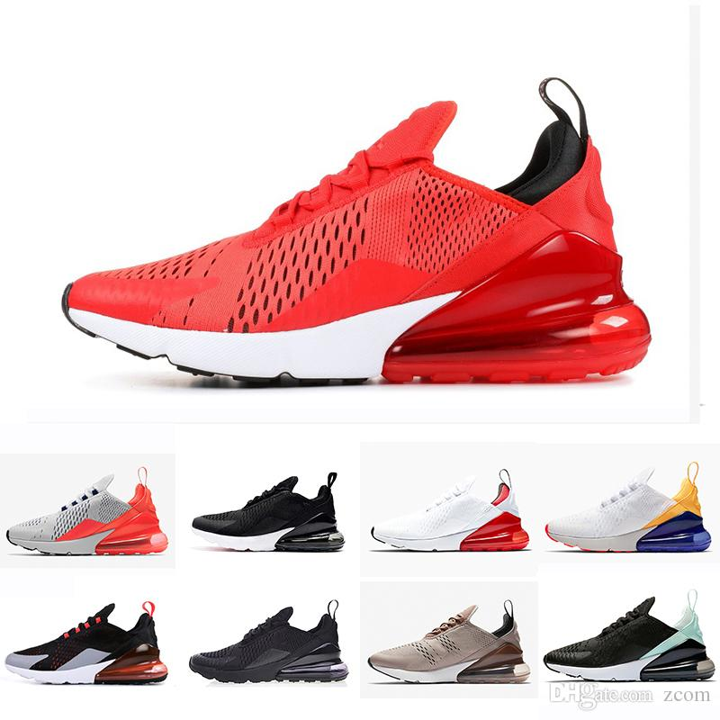 e17a6d9ec95 2019 Vibes 270 Ultramarine Running Shoes Philippines Habanero University Red  Mens Flair Triple Black Trainer Sports Shoe Women 270s Sneakers Chaussures  270 ...