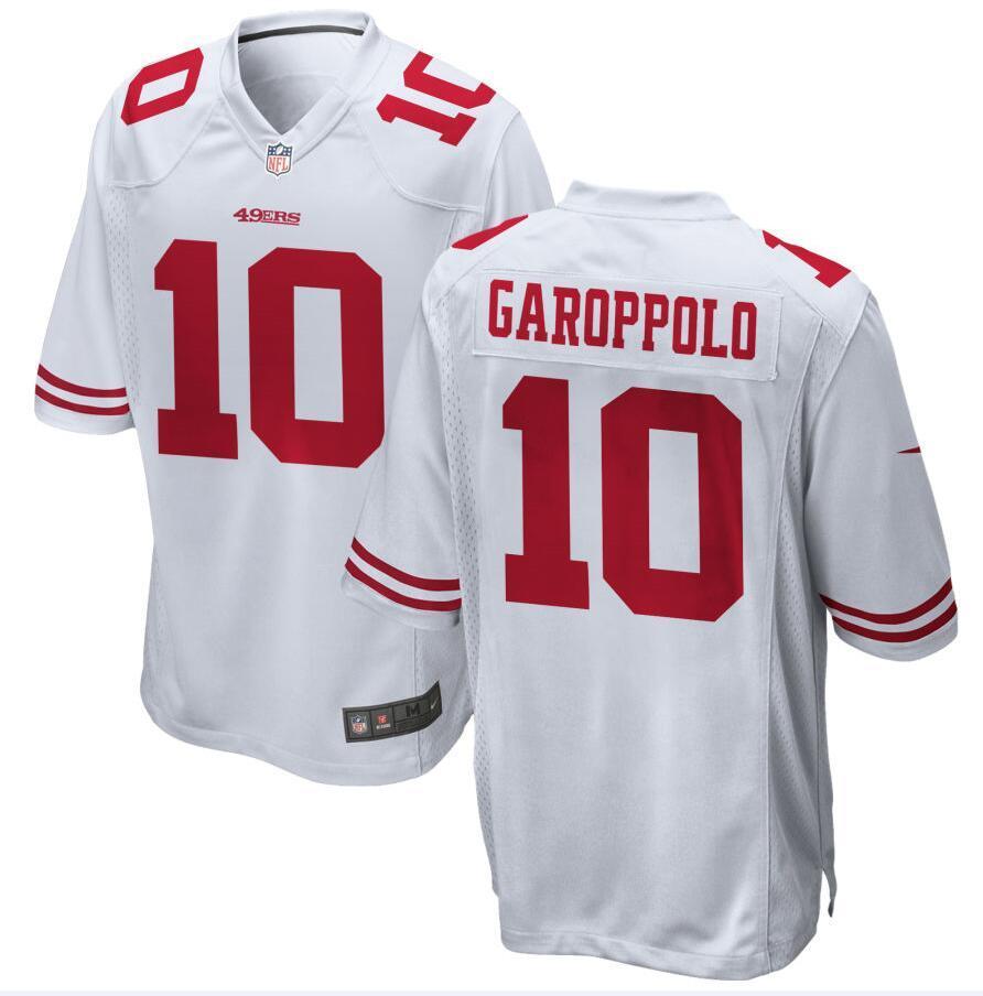 buy popular ed11b d674a Nick Bosa George Kittle 49ers Jersey Jimmy Garoppolo Justin Skule Steve  Young men kids custom american football jerseys 4XL 5XL 6XL 8xl game