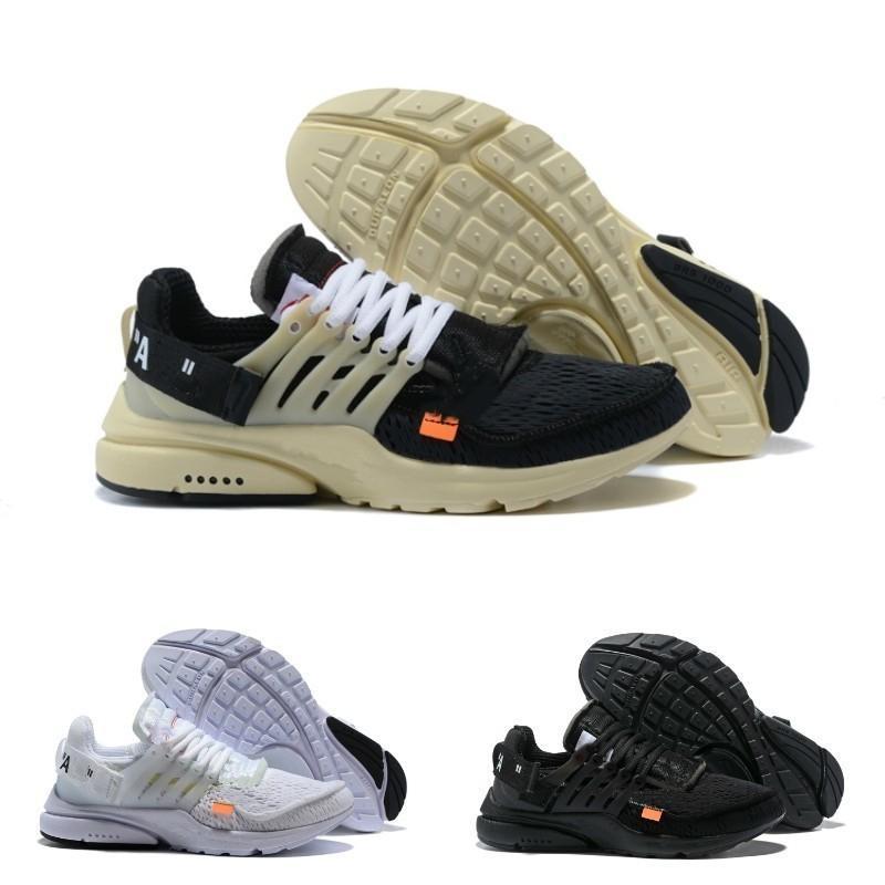 outlet store 5cfe8 6ce43 Acheter 2019 Nike Air Max Presto Airmax White Prestos Off V2 Shoes Ultra BR  TP QS Noir Blanc X Chaussures De Sport Pas Cher Coussin À Air Prestos Femmes  ...