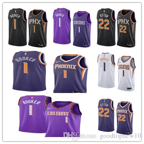 7e6f2d05e DeAndre 22 Ayton Jersey New Phoenix City Suns Basketball Mens Devin 1 Booker  Josh 20 Jackson S 3xl Cool T Shirts Online Funny T Shirts Online From ...