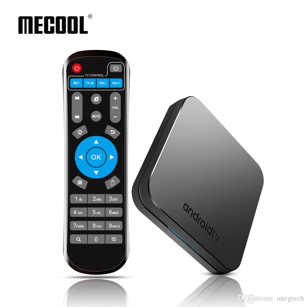 Mecool KM9 Android 8.1 TV Box DDR4 4GB 32GB Smart Mini PC Soporte 2.4G / 5G Dual Wifi Bluetooth Set Top Box