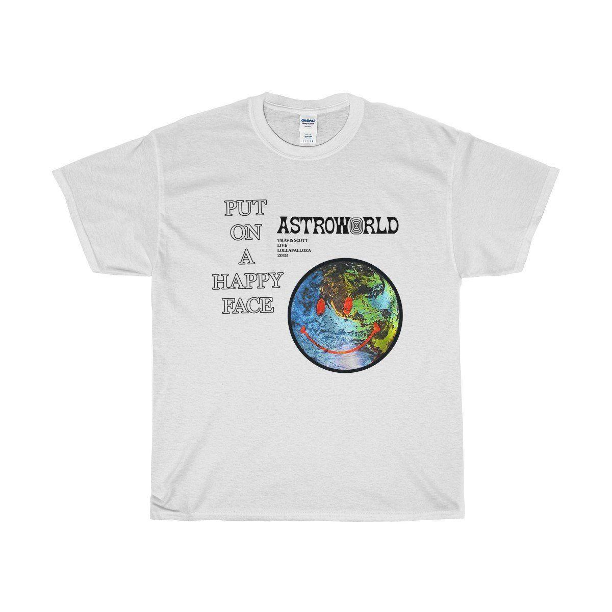 10885a609bf3 2018 Travis Scott Astroworld T Shirt 2 Sides Unisex 100% Cotton Tee White  Shirt Short Sleeve Shirt Novelty T Shirts From Nolifeshirt, $11.01   DHgate.Com