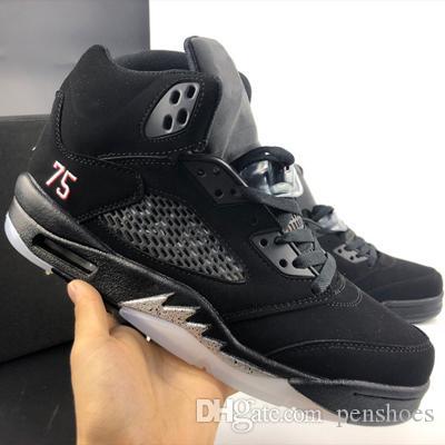 071e9dd3b3a03 High Quality 5 5s PSG Paris Saint-Germain 75 Men Casual Shoes ...