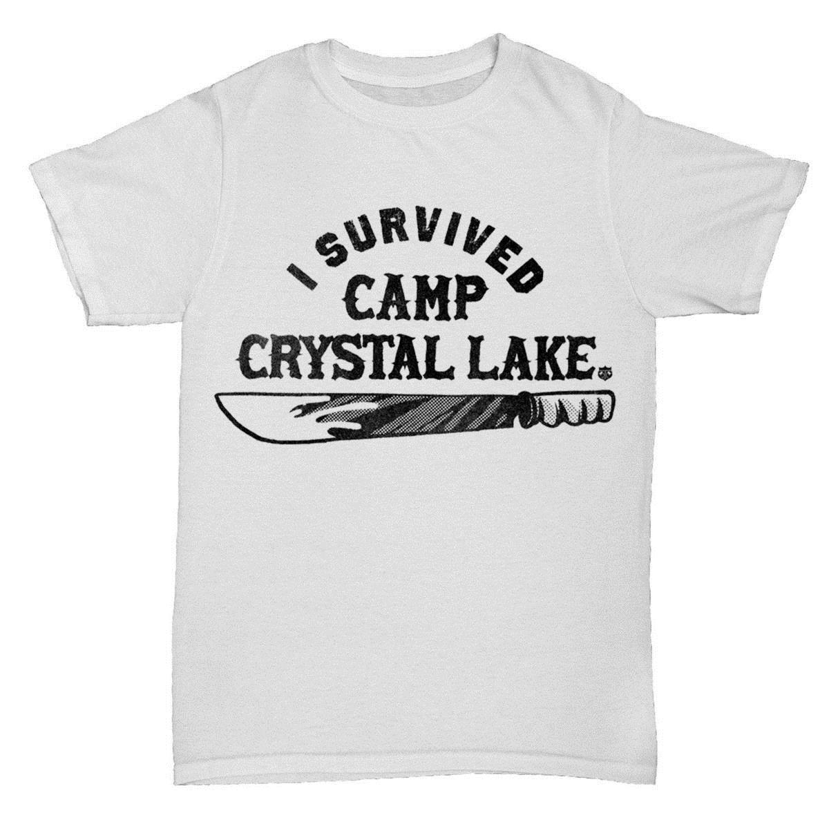 CAMP CRYSTAL LAKE INSPIRED FRIDAY 13TH MOVIE FILM HORROR MENS RETRO T Shirt  Now T Shirts Deal With It T Shirt From Yuxin0008,  12.94  DHgate.Com 1b47a8164b