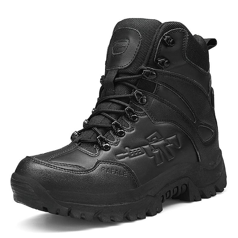Desert Military Tactical Boots Men Army Outdoor Hiking Boot Winter Men Fashion Casual Shoes Comfortable Ankle Snow Boots