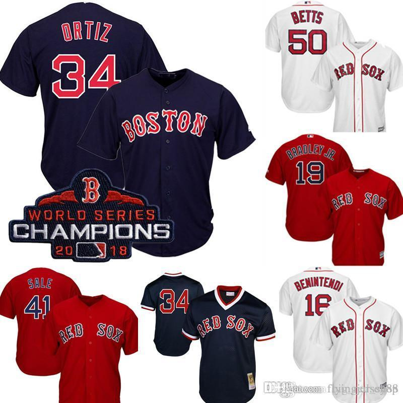 new products bf26d ef832 Red Sox 34 David Ortiz Jersey Men's Majestic Scarlet Cool Base Player  Jersey Embroidery Baseball Jerseys M-XXXL