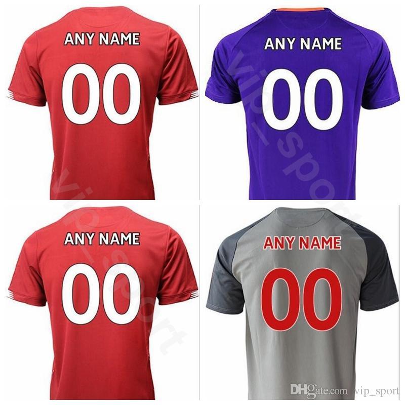 big sale 52614 08e3f 19-20 Men Soccer MILNER Jersey Champions League SHAQIRI HENDERSON FABINHO  KEITA WIJNALDUM Football Shirt Kits Uniform Custom Name Number