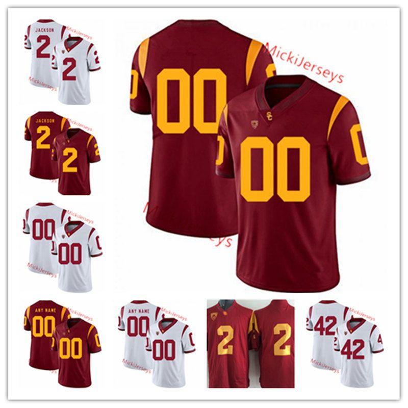 huge discount 895b7 dd8be USC Trojans Football Jersey Iman Marshall Matt Leinart Sam Cunningham  Rasheem Green Adoree Jackson Uchenna Nwosu Devon Kennard USC Jersey