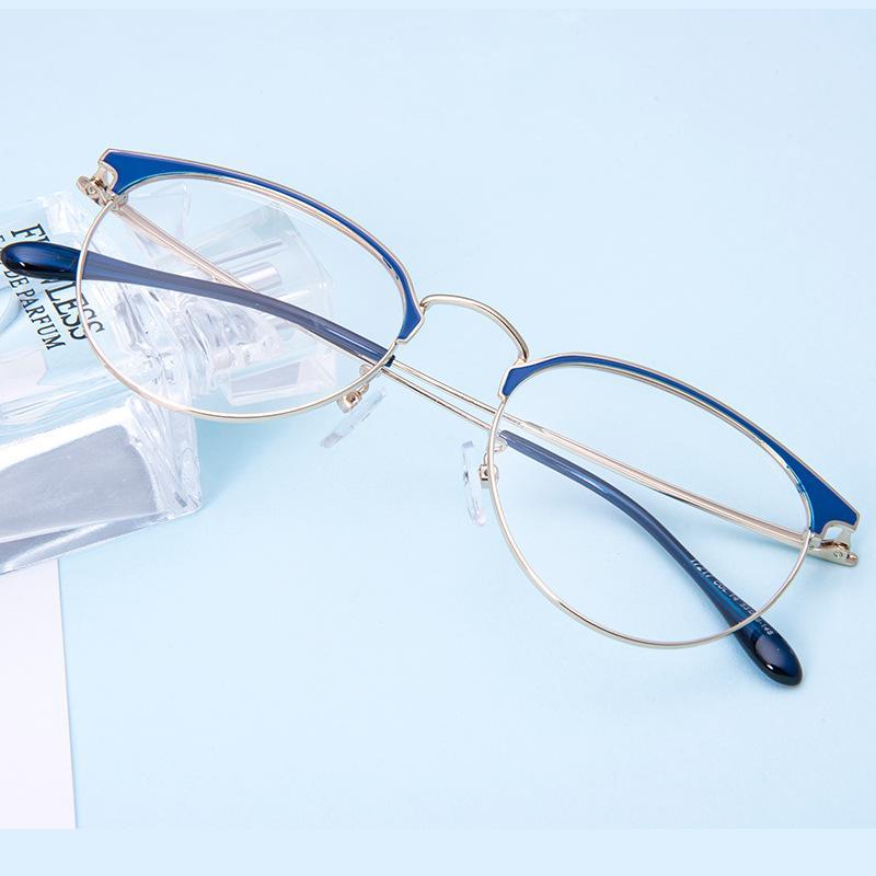 91f50fe7ac Light Glasses Frame Anti-blue Eyeglasses Radiation Protection ...