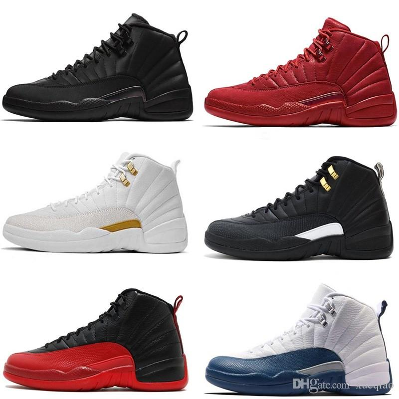 f857039cbcdd28 12s Mens Basketball Shoes 12 Women Michigan Wntr Gym Red Taxi NYC ...