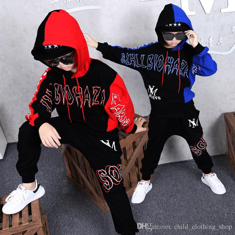 2019 Hot 2019 Hip Hop Baby Sweatshirt Hba Clothes Kids Clothes Long