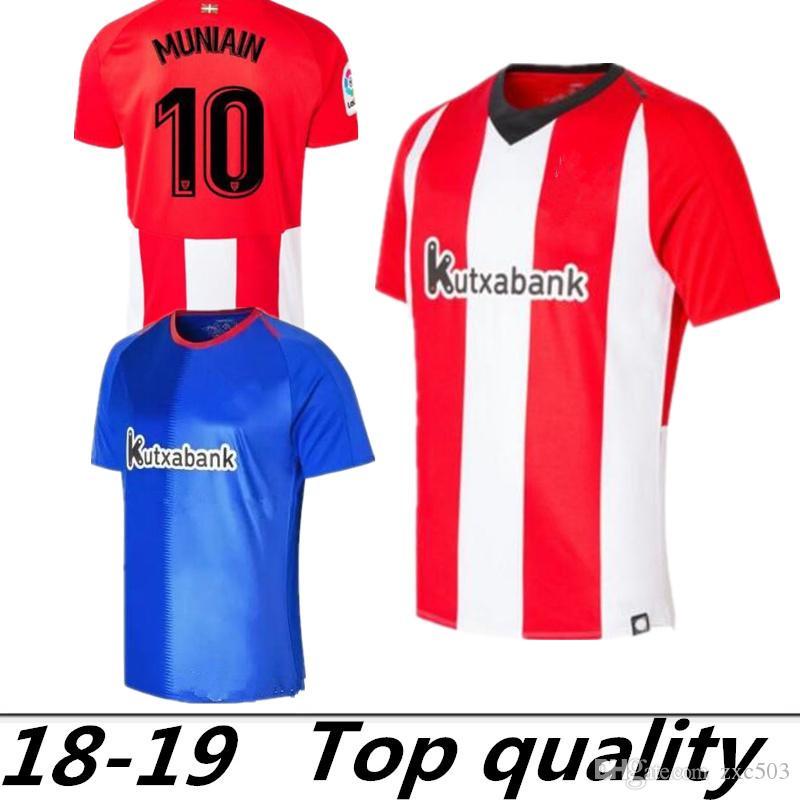 18 19 Athletic Bilbao Club Home Camisetas De Fútbol 2018 2019 Aduriz  Williams Sola Muniain Camisetas De Fútbol Uniforme De Fútbol Por Zxc503 18bc069f72701
