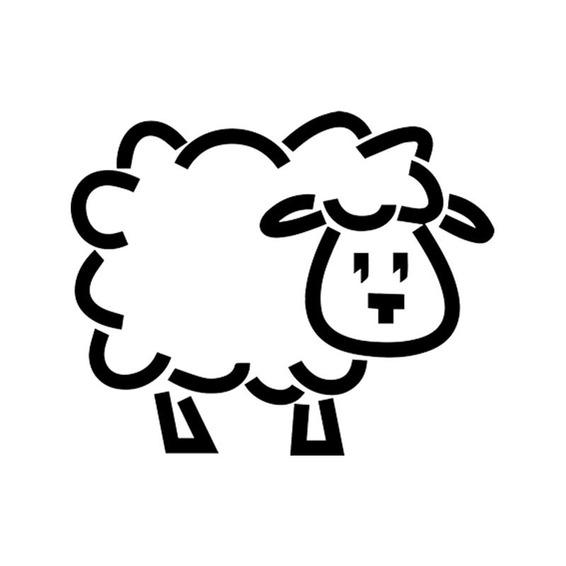 car sheep sticker animal vinyl car packaging accessories product 2010 Suzuki Grand Vitara car sheep sticker animal vinyl car packaging accessories product decal decorative pattern personality car sticker vinyl sticker car styling online with
