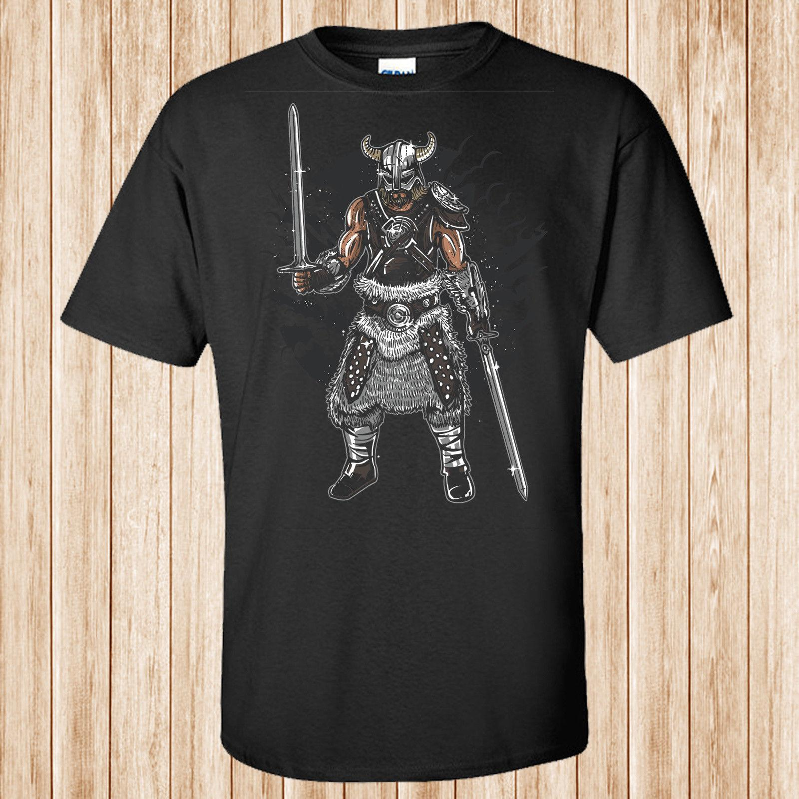 e0876710 Dark Viking T Shirt Funny Unisex Casual Silly T Shirts Interesting T Shirts  From Cheznobody, $12.96| DHgate.Com