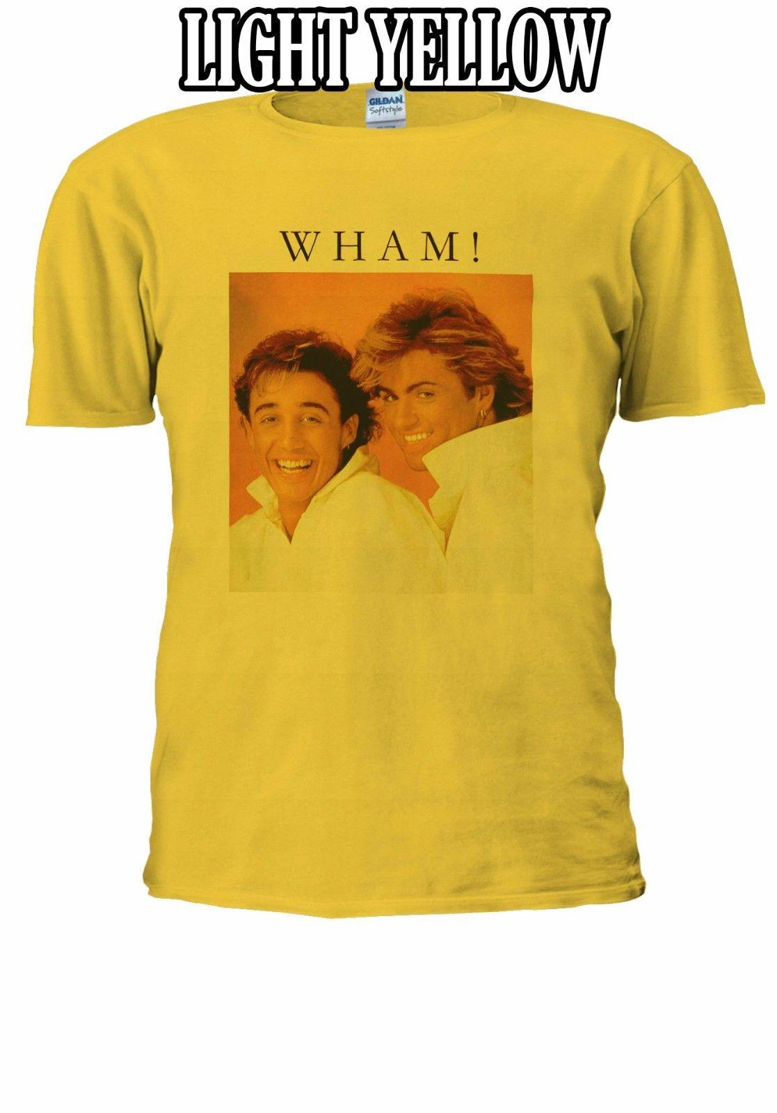221b3dc7 George Michael WHAM Poster Gift T Shirt Baseball Vest Men Women Unisex 2718 Custom  T Shirt Logo Text Photo Mens Womens T Shirt Best Sites For T Shirts Tee ...