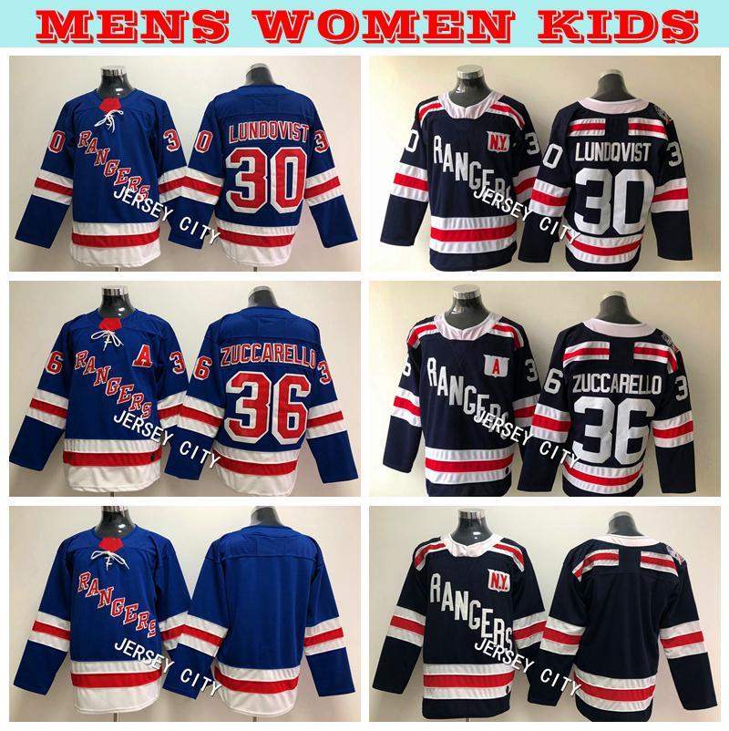 2019 2019 Winter Classic Mens New York Rangers Hockey Jerseys 30 Henrik  Lundqvist 36 Mats Zuccarello Kids Womens Mens Hockey Jerseys Embroidery  From ... 17494ae16