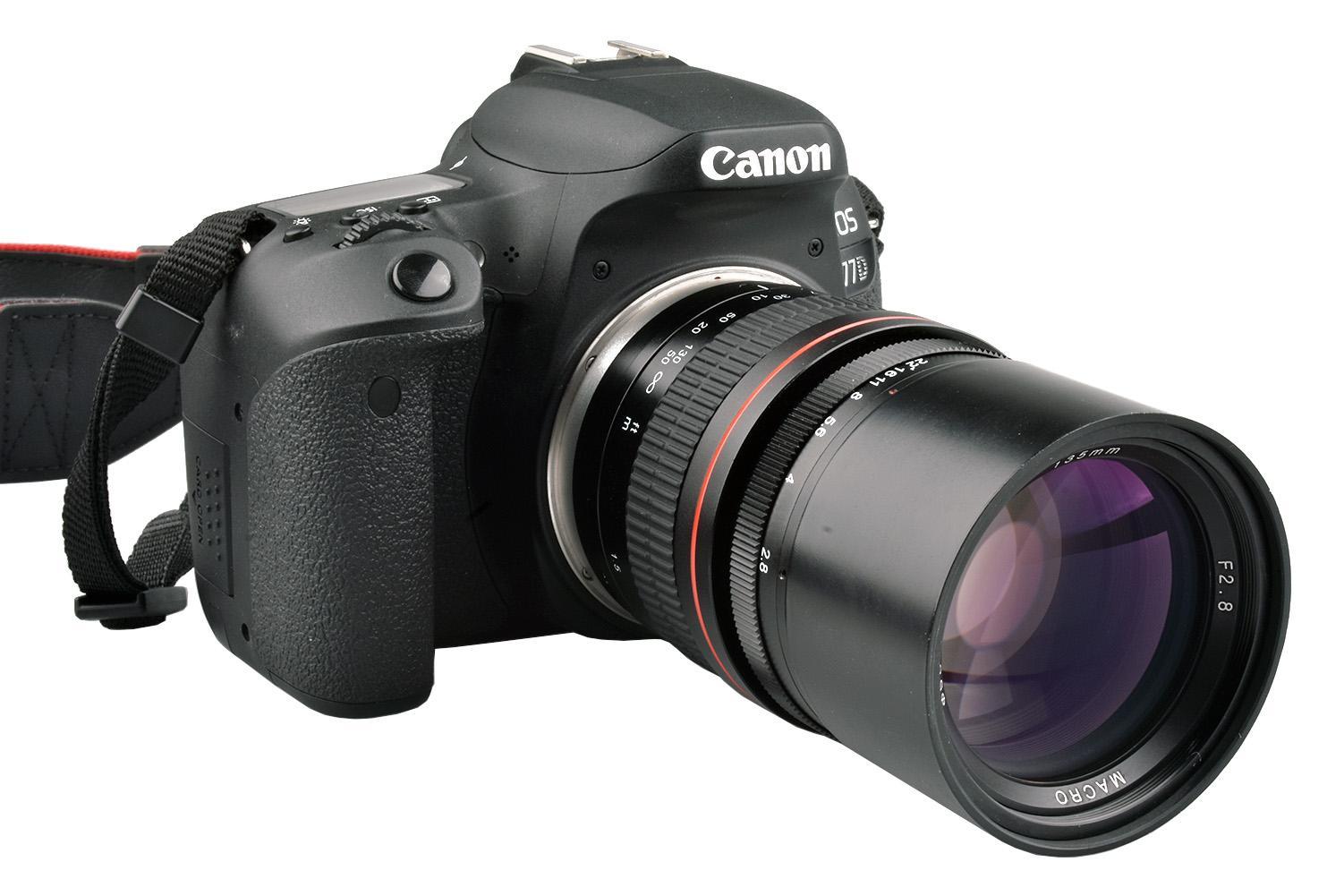 135mm F2 8 Telephoto Prime Lens for Canon EOS 1300D 6D 77D 760D 800D 60D  70D 80D Nikon D810 D850 DSLR Camera Lens