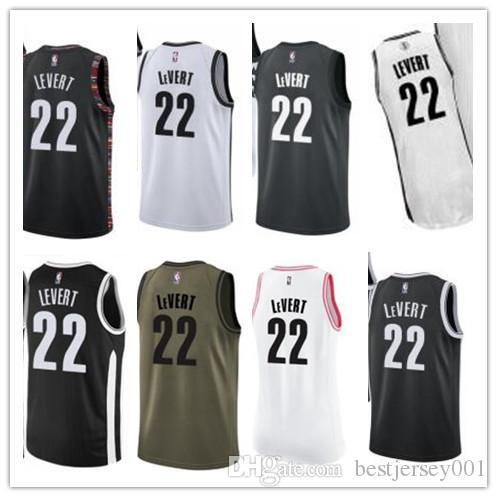 competitive price 80828 bcb99 custom 2019 Brooklyn Net Jerseys #22 Caris LeVert Jerseys  men#WOMEN#YOUTH#Men's Baseball Jersey Majestic basketball jersey