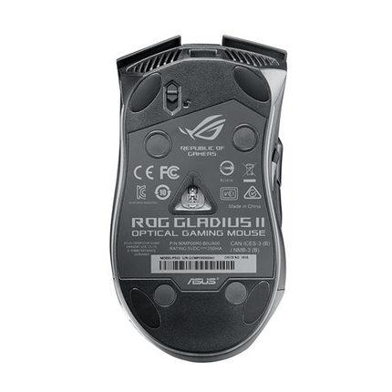 ASUS ROG Gladius II Aura Sync USB Wired Optical Ergonomic Gaming Mouse with  DPI target button 12000 DPI