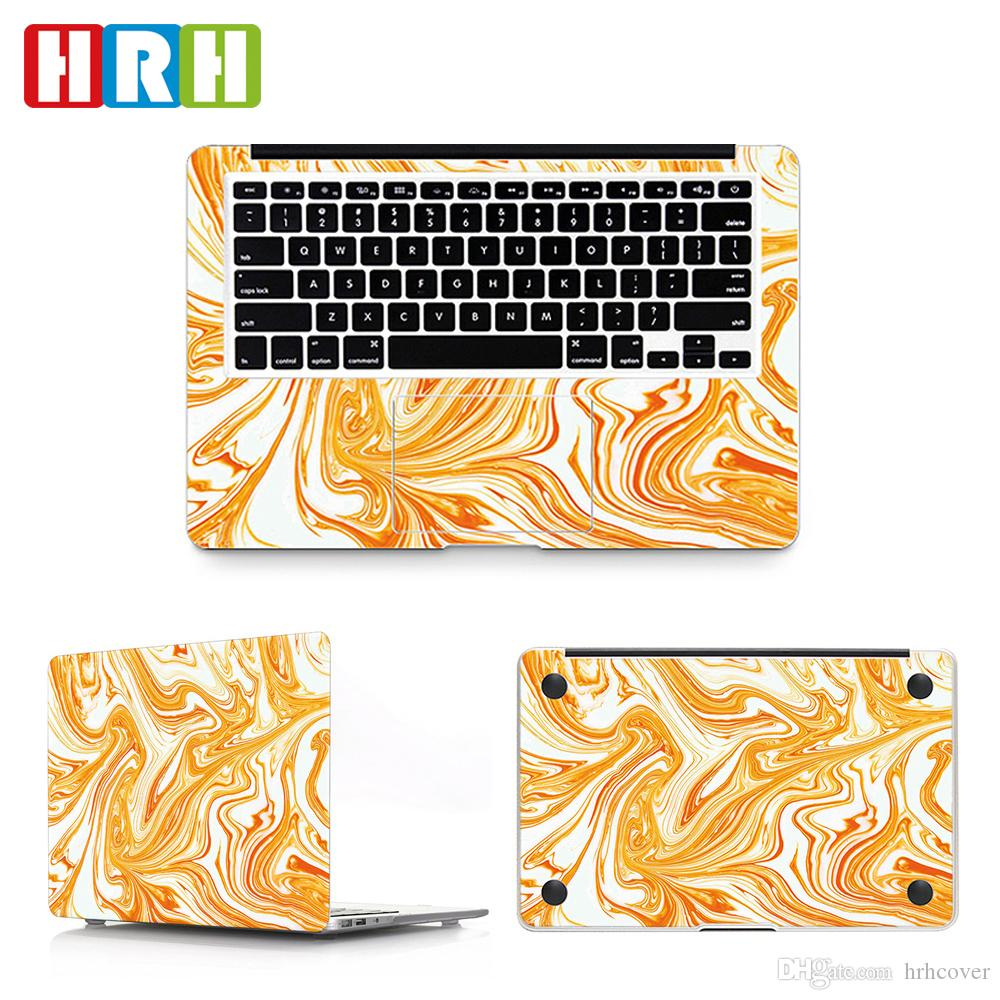 HRH 3in1 Marble Laptop Skin Vinyl Decal Sticker for Macbook Air A1932 Case  2018 11 12 13 15