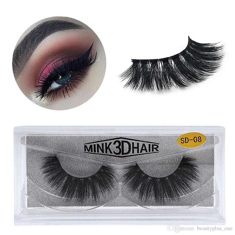 45e67f612a8 17 Styles 3D Mink Eyelashes Eye Makeup Mink False Lashes Soft Natural Thick  Fake Eyelashes 3D Eye Lashes Extension Beauty Tools Eye Lash Eyelash  Conditioner ...