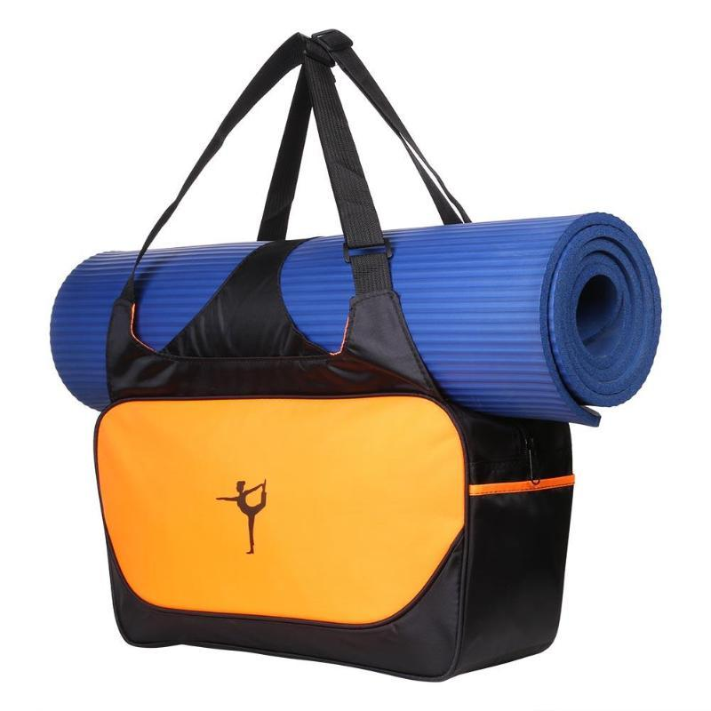 a2f86faa0d 2019 Multifunctional Sport Bag Clothes Yoga Backpack Yoga Mat PVC  Waterproof Bag For Sports   Entertainment 48X28cm From Fwuyun