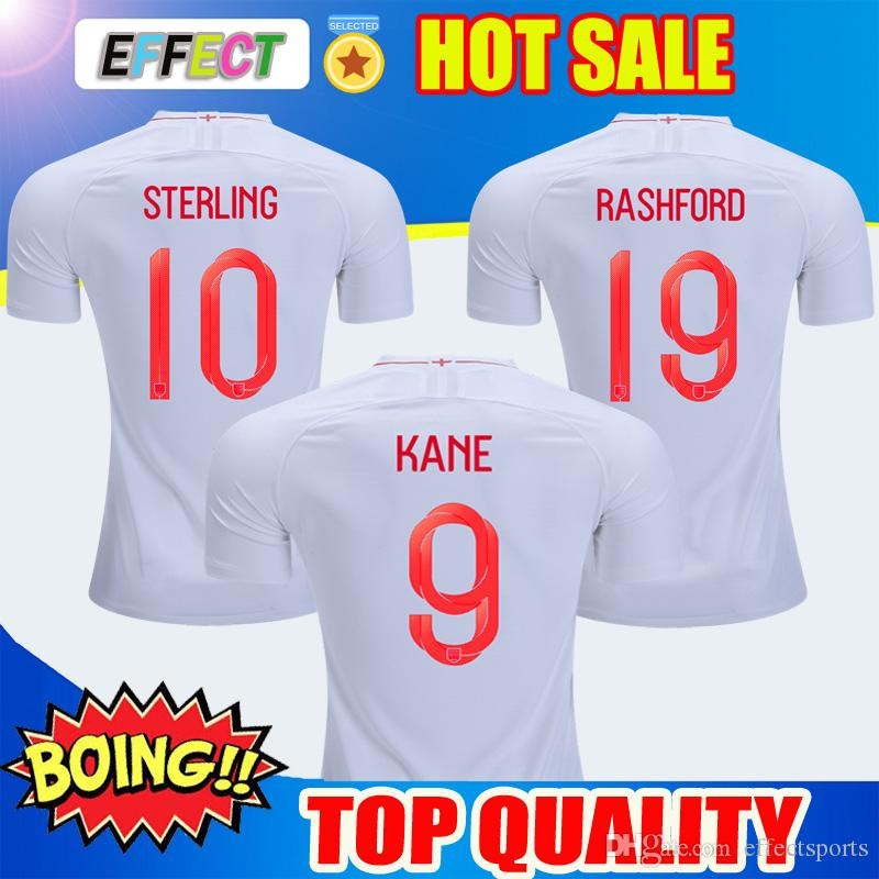 cfb49f154 2019 Thailand Quality 2018 England World Cup Soccer Jerseys Kit 9 ...