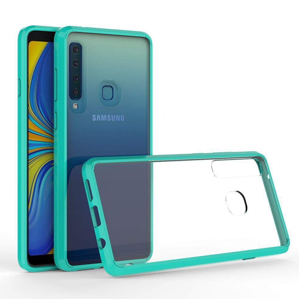926b162f24 Compre Acrílico + Tpu Caso Capa Dura Transparente Para Samsung Galaxy J4  Prime A7 2018 A8 A9 Estrela J1 Ace Lte Anti Risco Claro Híbrido Shell De  Boxcase