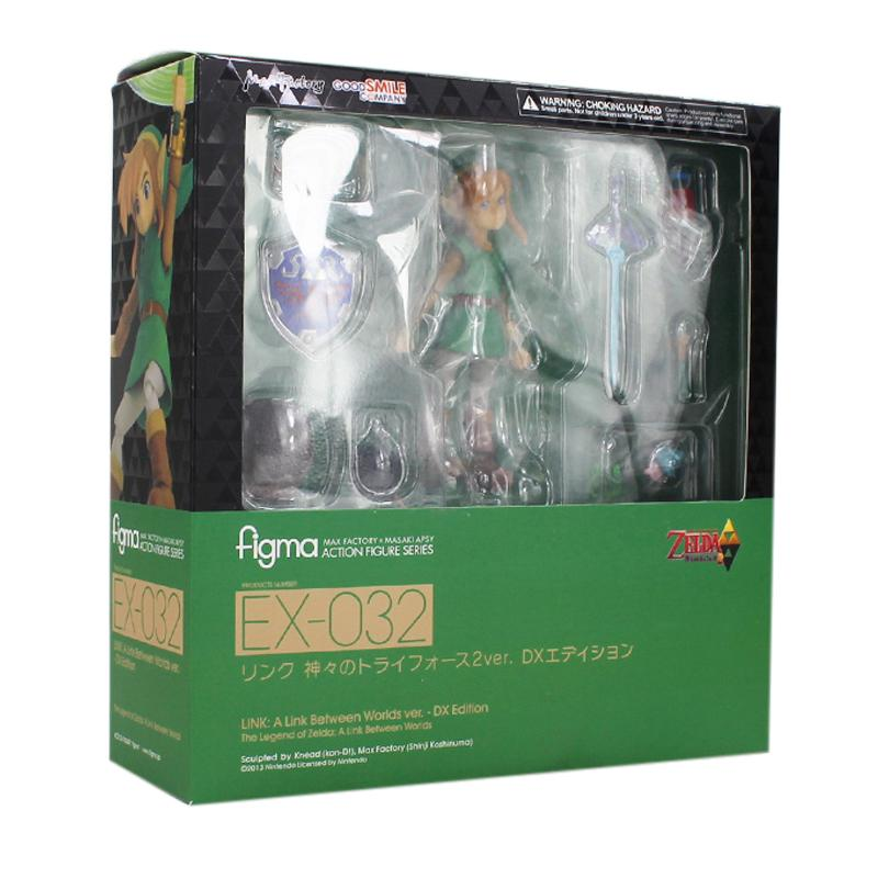 Figma EX-032 Kawaii Game The Legend of Zelda 14cm A Link Between Worlds Action Figure Toys