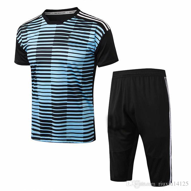 sports shoes caacb 45a9a AAA 2018 World Cup Argentina Paulo Dybala football jersey 1819 Gonzalo  Higuaín men s soccer short sleeve training suit