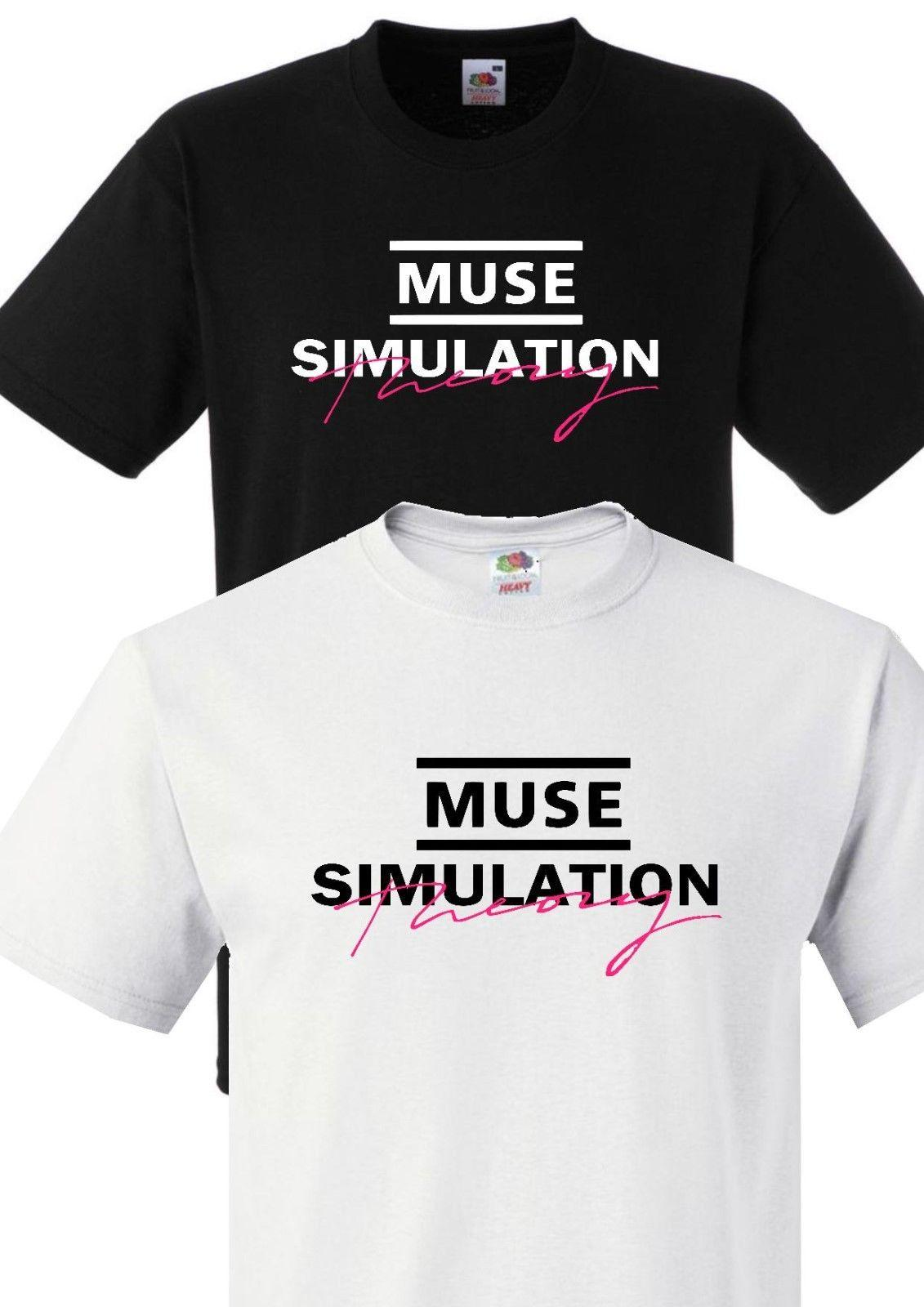 83b7c6cb MUSE SIMULATION THEORY UNISEX T SHIRT S 3XL ROCK CONCERT MUSE TOUR  ALBUMFunny Unisex Casual Designer White T Shirt Printed T Shirts Funny From  Shirtquarters ...