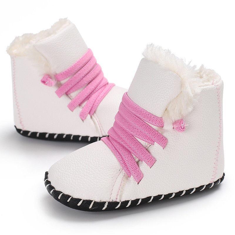329cbbe35d4c9 Acheter 2019 Marque Mignon Bébé Fille Garçon Neige Bottes D hiver Moitié Bottes  Infant Kid Enfant Nouveau Fond Doux Chaussures 0 18 M De  35.33 Du Bradle  ...
