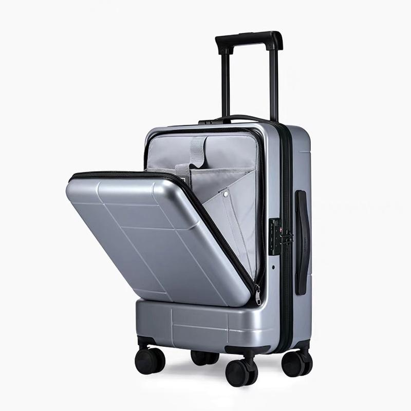 2d20070609af New suitcase men lever 20 24 inch women tide universal wheel large capacity  boarding password travel luggage