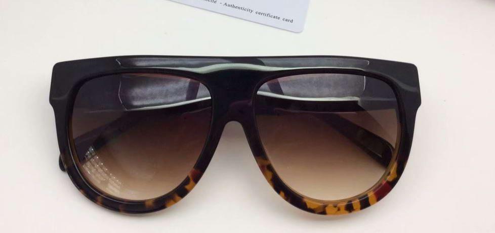 Compre Sombra 41026 Óculos De Sol Preto Havana Tartaruga Quadro Marrom  Lente Gradiente Designer De Óculos De Sol Gafa De Sol Novo Com Caixa De  Yogaw, ... 123eba52a5