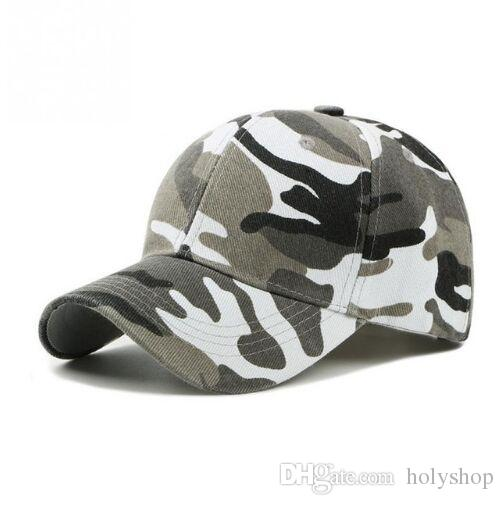 f78d347491162 2019 Camo Mesh Baseball Cap Men Camouflage Caps Masculino Summer Hat Men  Army Cap Trucker Snapback Hip Hop Dad Hat From Holyshop
