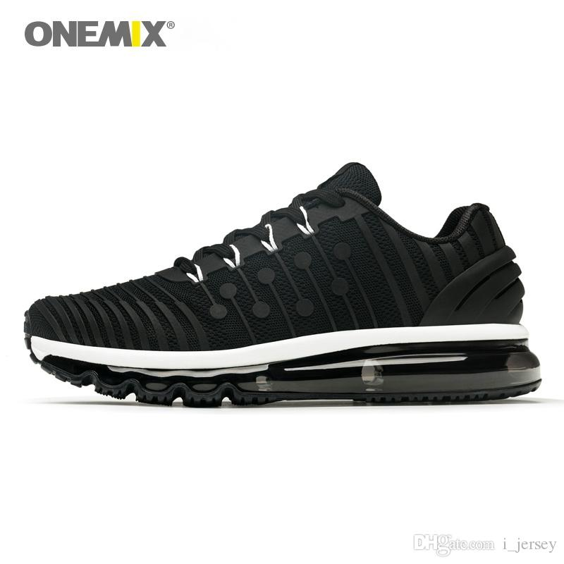 f9c0d0cd3f 2019 ONEMIX Sports Shoes Men Running Sneakers Outdoor Jogging Shoes Shock  Absorption Outdoor Sneakers For Walking Big Size 36 47  165480 From  I jersey