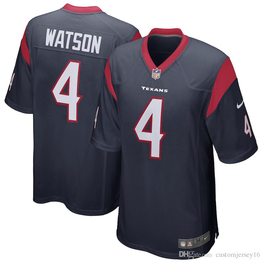 2019 Men s Houston Texans   Deshaun Watson Navy Game Jersey Jersey ... 3a6992d73
