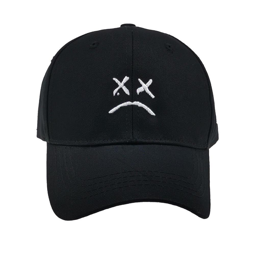 Unisex Personality Expression Embroidery Baseball Cap Tennis Caps Gym Exercise Sports Hat Adjustable Visor for Women Men Casual