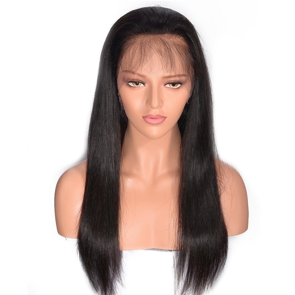Glueless Body Wave 360 Lace Wig with Natural Hairline and High Ponytail Brazilian Virgin Frontal Human Hair Wigs for Women 150% Density