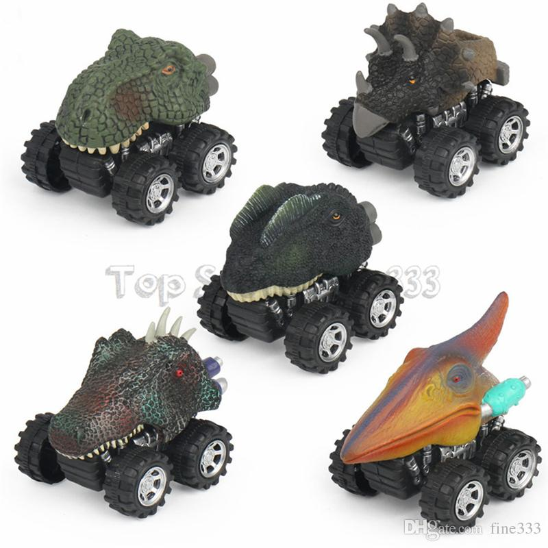 Animal Children Gift Toy Dinosaur Model Mini Toy Car Gift Pull Back Cars Toy Truck Hobby Funny KID Gift Drop Shipping