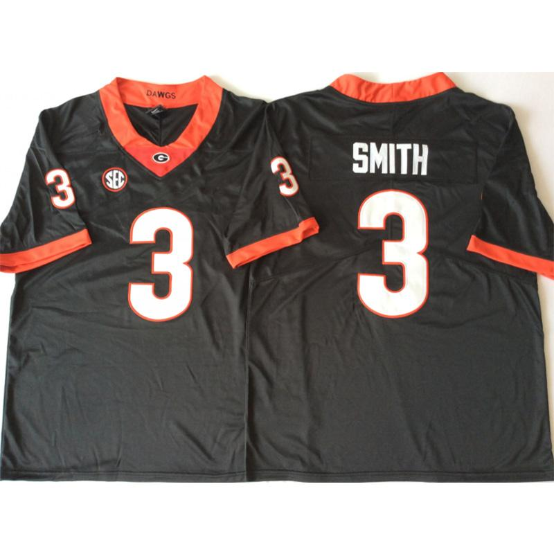 promo code c6d83 29857 Mens Georgia Bulldogs Roquan Smith Stitched Name&Number American College  Football Jersey Size S-3XL