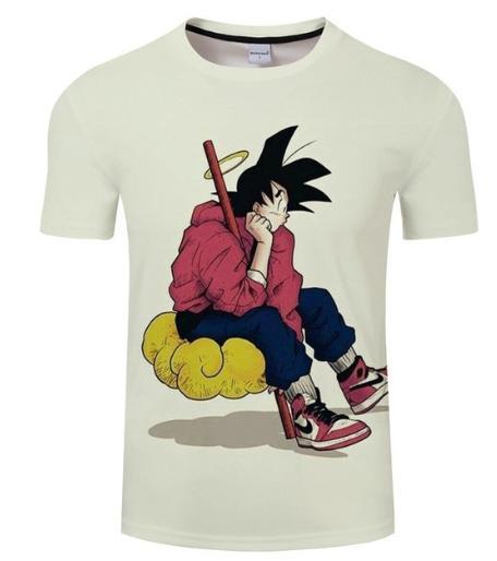 b782aba3 Newest Anime Dragon Ball Z Goku Saiyan T Shirt 3D Print Men/Womens Unisex  Funny Summer Round Collar Short Sleeve Casual Tops K801 Tee Shirts For Sale  Random ...